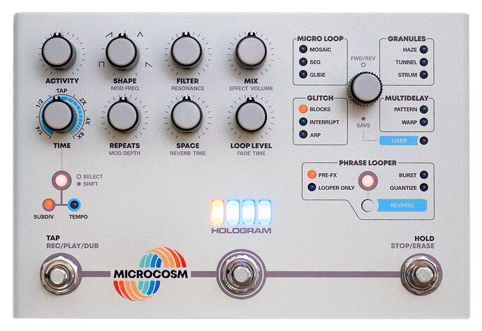 Hologram Microcosm guitar pedal