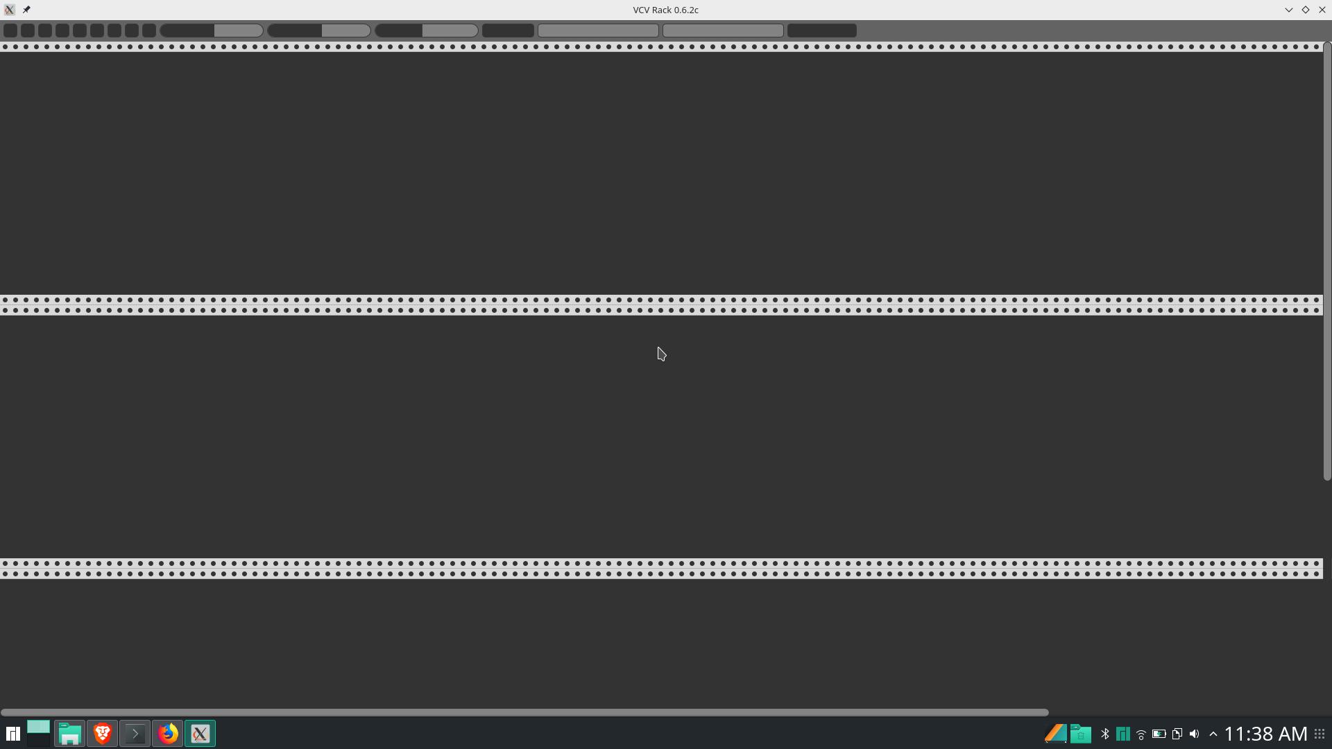 Rack doesn't look right on Arch linux - VCV Rack - VCV Community