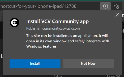 VCVRackForumInstallEdge